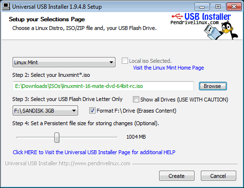 Make Bootable Flash Device from ISO Image File