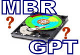 mbr or gpt