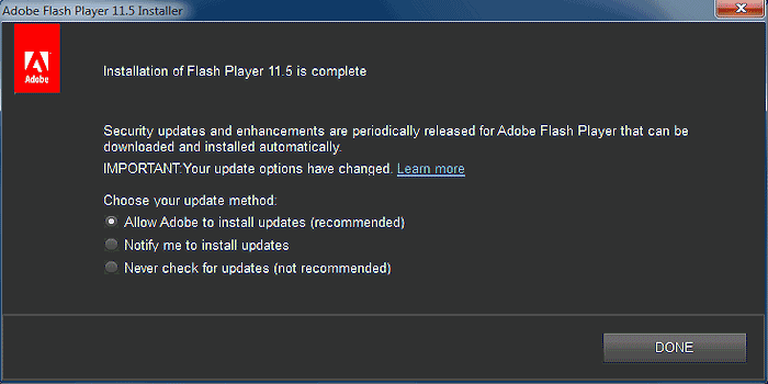 Manually Update Adobe's Flash Player - Multibooters com